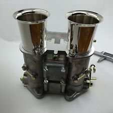 45DCOE carburetor carb w air horn 45 dcoe replacement for Weber Solex Dellorto