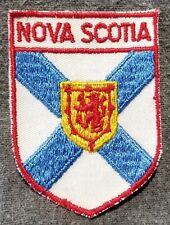 LMH PATCH Badge  CANADA NOVA SCOTIA  Crest Canadian COAT ARMS  Blue Cross Flag