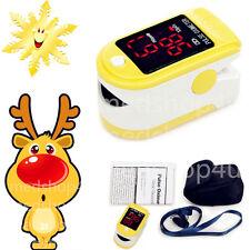 NEW FDA&CE Pulse Finger Oximeter Blood Oxygen SpO2 Monitor, CMS50DL,Big SALE HOT