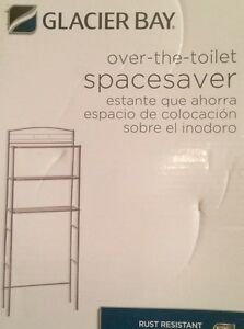 Glacier Bay Over-the-Toilet Space Saver - Polished Chrome - NEW