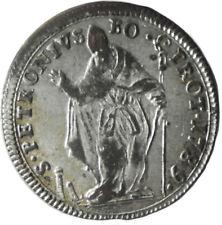 STATO PONTIFICIO - BOLOGNA - PIO VI - muratola da 2 bolognini anno 1789