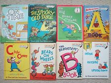 BERENSTAIN BEARS LOT 8~AB Book~Honey Hunt~Bears Wheels~Inside Outside~OldTree~HC