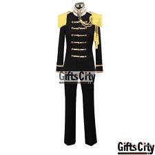 Axis Powers Hetalia Japan Honda Kiku Black Uniform Cosplay Costume COS Cloth