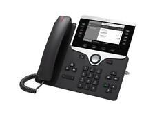 Cisco 8811 IP Phone - Cable - Wall Mountable, Desktop - Charcoal - VoIP - Caller
