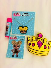 LOL Party Pack Favors Birthday Favor Balls Necklace Squishy Gloss Surprise