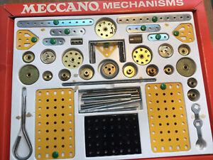 vintage Meccano Mechanisms Set