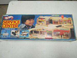 Hot Wheels Service Center Foldaway Garage Sto N Go Mattel 1979 box rare