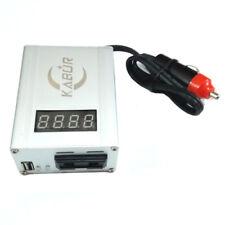 Inverter auto 12V 220V camper barca campeggio USB max 300W display accendisigari