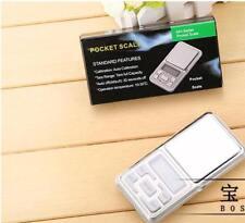 Pocket Digital Jewelry Scale Weight 500g x 0.1g 0.01g Balance Electronic Gram