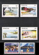 SENEGAL (1989) - 6V **MNH - TOURISME (GOREE LAC ROSE FADIOUTH CASAMANCE)