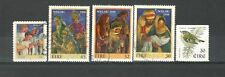 R1060 - IRLANDA 1998 - SERIE COMPLETA USATA NATALE N°1105,1110/13 - VEDI FOTO