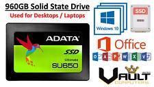 SSD Hard Drive Windows 10 120 GB 240 GB 480 GB 960 GB With Microsoft Office