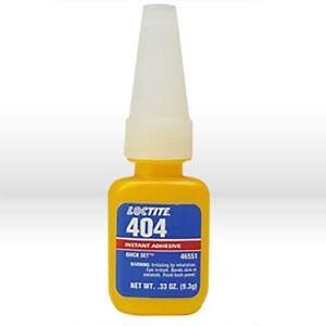 LOCTITE 404 .33oz (9.3g) Quick Set Instant Adhesive 46551 EXP 2023