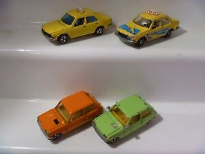 * VINTAGE DIECAST MAJORETTE FRANCE LOT RENAULT 5 AND 18