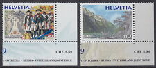 SWITZERLAND - 1999 Crossing of the Alps (2v) - UM / MNH