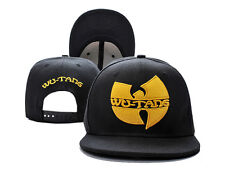 Men's WOMEN'S Black WU TANG Snapback Adjustable Baseball Cap Hip hop BBOY DJ Hat