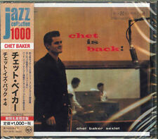 CHET BAKER-CHET IS BACK!-JAPAN CD BONUS TRACK Ltd/Ed B63
