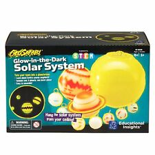 Glow in the Dark Solar System Model Toy Educational - New in Box