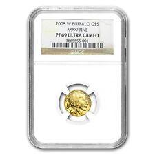 2008-W 1/10 oz Proof Gold Buffalo PF-69 NGC - SKU #57657