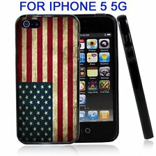 USA American Flag Grunge for Iphone5 5G Case Cover