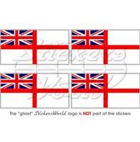 "British White Ensign 6/""x4/"""