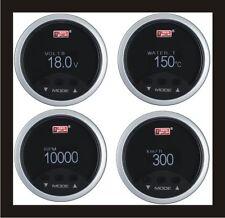 4 en 1 52mm Digital OBD2 Rpm Velocímetro + + + Voltímetro Medidor de Temperatura de Agua Blanco LED