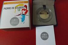 *Frankreich 2 Euro Gedenkmünze 2013 PP *Pierre de Coubertin