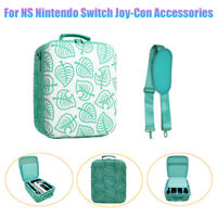 Travel Carrying Case For Nintendo Switch Game Parts Animal Crossing Storage Bag