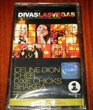 Divas Las Vegas~Céline Dion- Cher- Shakira Cassette New Bulgarian Edition Tape