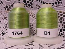 variegated green 100% Polyester Machine Embroidery Thread 1110 yard Spools