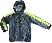 GAP Boys Reflective Logo Hooded Windbreaker Showerproof Outdoor Jacket 4-5 £27.9