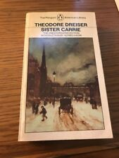 Sister Carrie by Theodore Dreiser (1981 Penguin Classics Paperback)