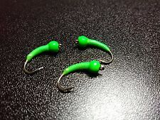 Green Pea Trout Buzzers Trout Nymphs Fly Fishing Trout Flies