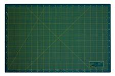 Schneidematte 3-lagig und selbstheilend - grün schwarz 90x120cm A0