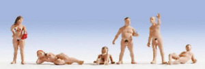 Noch 36843 Nudists N Gauge Figures Set