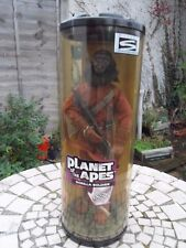 """GORILLA SOLDIER Planet of the Apes 12"""" Hasbro . Rotating Display 1999 -NEW"""