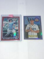 WILLY ADAMES ORANGE PRIZM 79/99 RC Tampa Bay Rays Topps Heritage Chrome RC