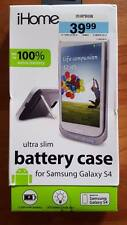 New iHOME Ultra Slim Battery Case for Samsung Galaxy S4 LED Battery Indicator