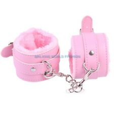 Lovers Handcuffs Up Sexy Slave Hand Ring Ankle Cuffs Restraint Bed Toys Game SM