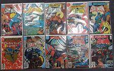 Detective Comics #502 505 508 512 513 526 527 529 532 533 - VF/NM - CGC READY