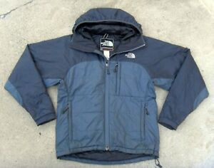 The North Face SUMMIT SERIES hooded PRIMALOFT insulated Jacket Men's Sz S Gray