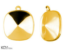 Bail (pendant) for Swarovski 4470 12 mm w 120 - gold-plated silver