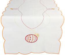 Betz Ostertischläufer Läufer Tischdecke 40x160 cm mit Stickerei Osterei
