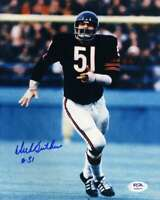 Dick Butkus  PSA DNA Coa Hand Signed 8x10 Photo Autograph