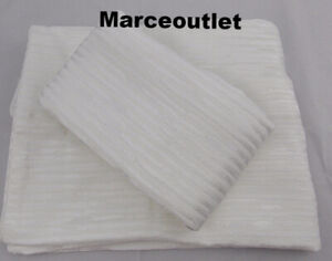 Hotel Collection Woven Texture Jacquard KING Pillowshams White