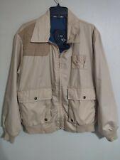 02f3704f3bdfd Vintage 10x Khaki Beige Full Zip Hunting Shooting Jacket - Men's Large L  Regular