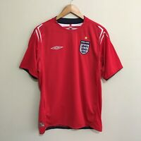 England Umbro 2004-2006 Soccer Football Jersey Shirt Mens Large