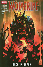 WOLVERINE: BACK IN JAPAN TPB Jason Aaron Marvel Comics Collects #300-304 TP