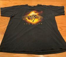 """Van Halen """"kick ass� concert Vintage 2004 T-shirt size Large By Anvil"""