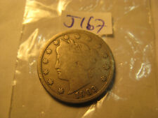 1903 USA Liberty Nickel Rare Coin ID#J167